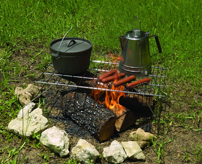 Deluxe Folding Camp Grill