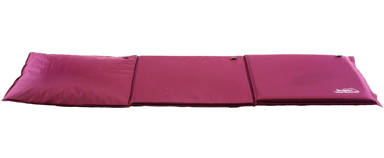 Three-Section Self-Inflating Camping Mattress
