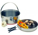 Stainless Steel Combination Fry Pan/Cook Pot