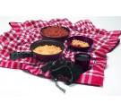 Kangaroo Five-Piece Teflon® Mess Kit (Case pack of 6)