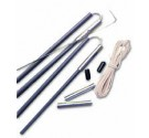 """7/16"""" Diameter Tent Pole Replacements Kits (Case pack of 12)"""