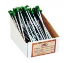 PDQ Packed 10'' Steel Spike Tent Stakes