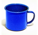 Blue Enamelware 24 Oz. Coffee Mug (Case pack of 24)