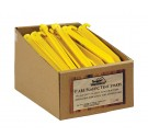 """9"""" ABS Plastic Tent Stakes PDQ Packed  (Case pack of 50)"""