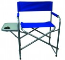 Steel Directors Chair with Table (Case pack of 4)