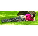Woodland Camouflage Fleece Sleepin Bag/Liner (Case pack of 6)