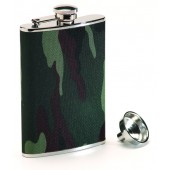 Camouflage Stainless Steel Hip Flask
