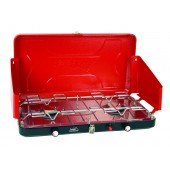 High Output Dual Burner Piezo Igniter Propane Stove (Case pack of )