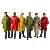 Vinyl Ponchos - 6 Colors to Choose (Case Pack of 36)